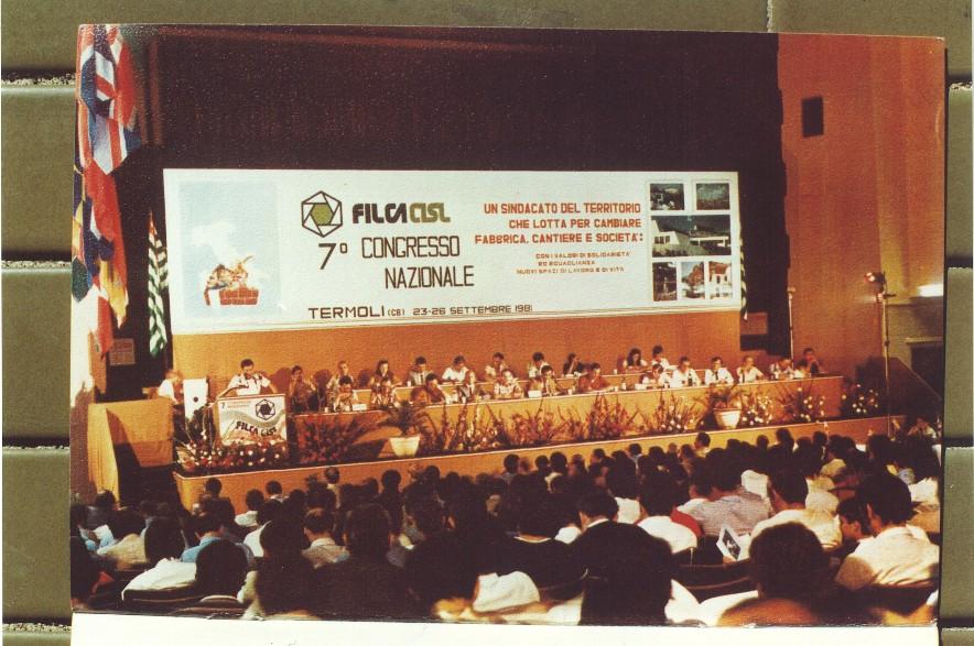 Termoli, VII Congresso Filca