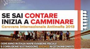 CAROVANA ANTIMAFIE, DOMANI CONFERENZA STAMPA DI PRESENTAZIONE