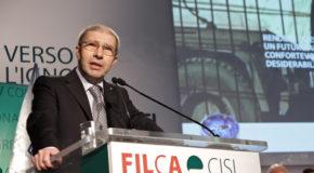 FILCA-CISL, DOMENICO PESENTI CONFERMATO SEGRETARIO GENERALE