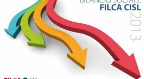 BILANCIO SOCIALE 2013 DELLA FILCA-CISL NAZIONALE