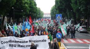 95% DI ADESIONE SCIOPERO ITALCEMENTI, IN 1.500 AL CORTEO DI BERGAMO