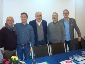 Rimoldi, Francioli, Federico, Turri e Bianchi