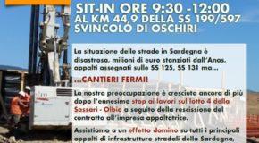 STOP A CANTIERI SASSARI-OLBIA, DOMANI SIT-IN DI PROTESTA