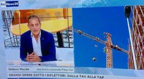 RAINEWS, INTERVISTA A MACALE SU CRISI EDILIZIA E GRANDI OPERE