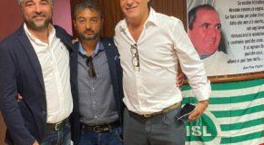 FRANCESCO DANESE ELETTO SEGRETARIO GENERALE DELLA FILCA CISL PALERMO TRAPANI